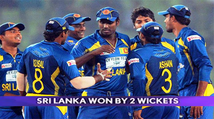 Sri Lanka beat India by 2 wickets in Asia Cup