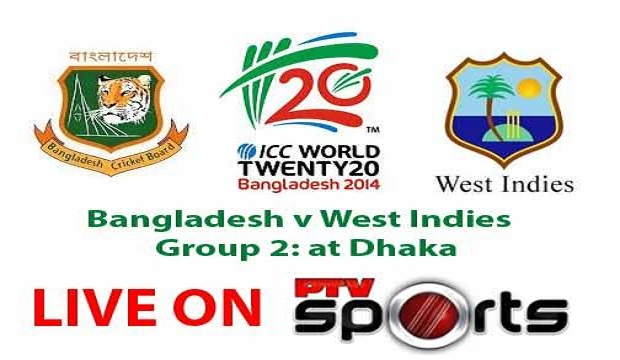 Bangladesh vs West Indies T20 World Cup 2014 Match