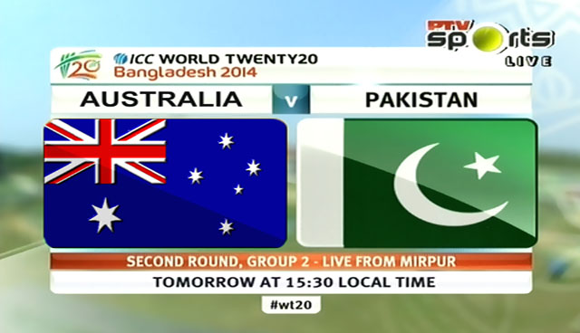 Pakistan vs Australia T20 World Cup Match