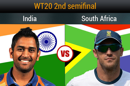 India vs South Africa 2nd Semi Final World T20 Cup 2014
