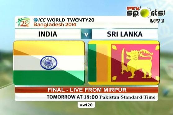 India vs Sri Lanka T20 World Cup 2014 Final Match