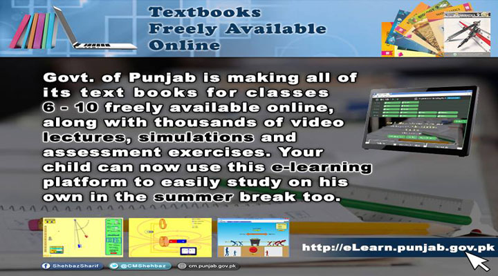 Punjab Textbooks 6th to 10th Class Freely Available Online