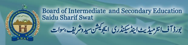 BISE Swat Board Inter (FA / F.Sc) Result 2014 announced
