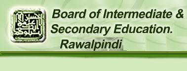 BISE Rawalpindi Board Matric Result 2015