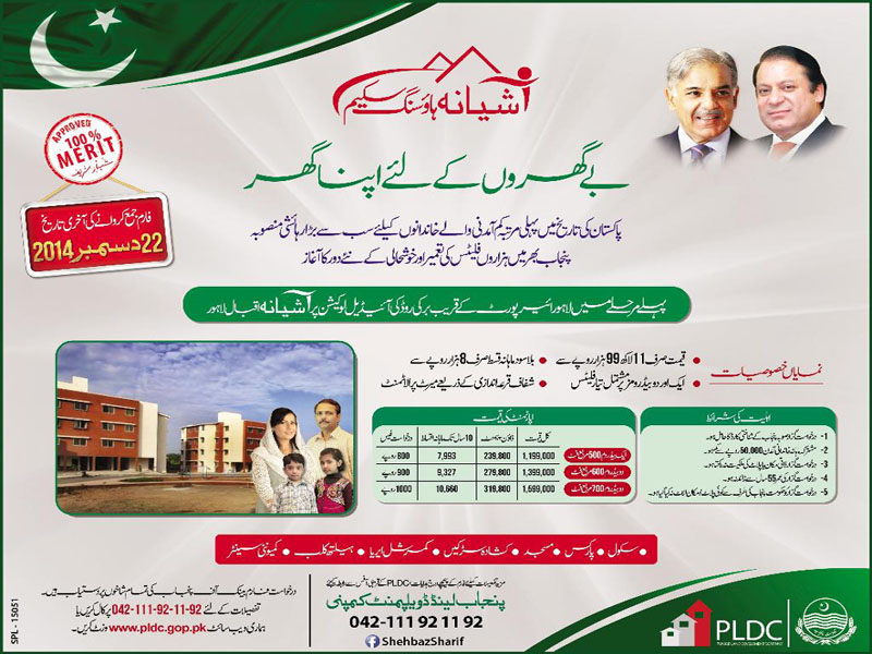 Ashiana Iqbal Housing Scheme Lahore Application Form