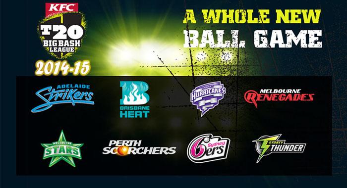 Big Bash League 2014-15 Schedule & Fixtures