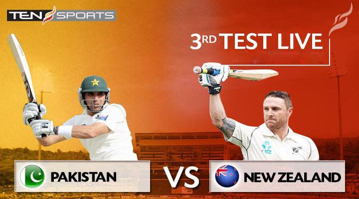 Pakistan vs New Zealand 3rd Test Match Live 26-30 November 2014
