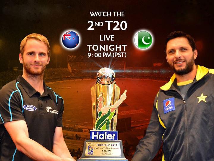 Pak vs nz 1st t20 live scorecard