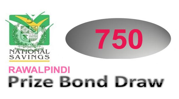 Prize Bond Draw Result Rs. 750 Full List Rawalpindi on 15th January 2015