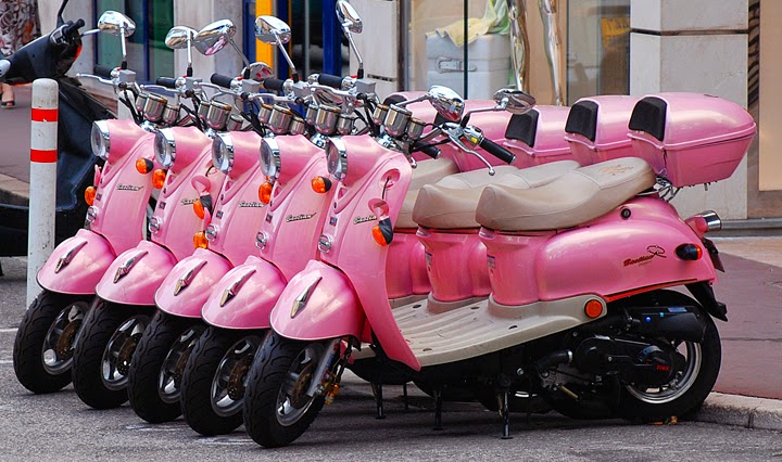 Pink Scooties for Girls in Punjab