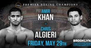Amir Khan vs Chris Algieri Fight Live at PTV Sports