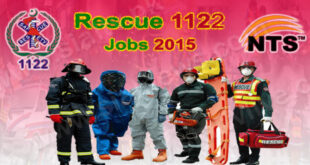 Punjab Emergency Service (Rescue 1122) Jobs 2015