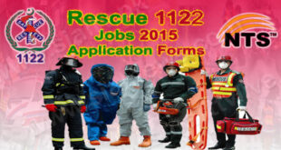 Rescue 1122 Jobs 2015 Application Forms