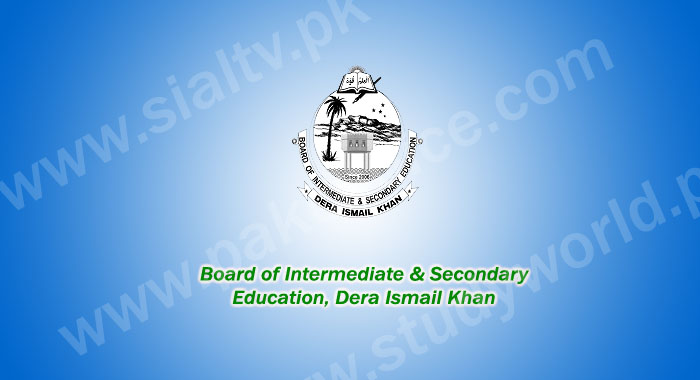 BISE DI Khan Board Matric (9th & 10th Class) Result 2015 announced