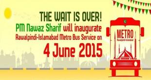 Metro Bus Service Launched in Rawalpindi