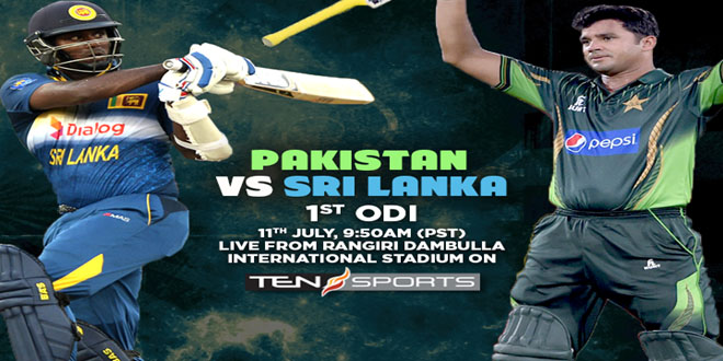 Pakistan vs Sri Lanka 1st ODI Match Online