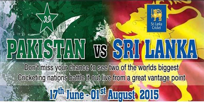 Pakistan vs Sri Lanka Cricket Series 2015