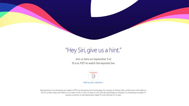 Apple iPhone Launch Event Live