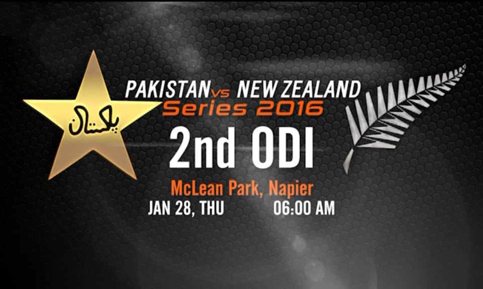 Pakistan vs New Zealand 2nd ODI Match Live