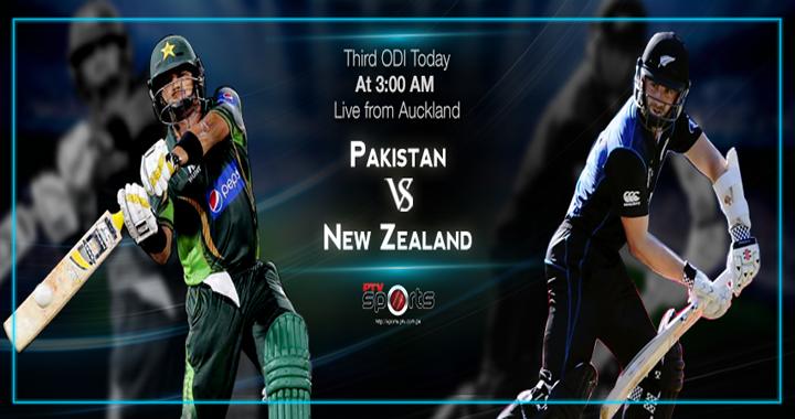 Pakistan vs New Zeland 3rd ODI Match Live