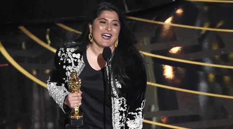 Sharmeen Obaid Chinoy oscar Award pictures