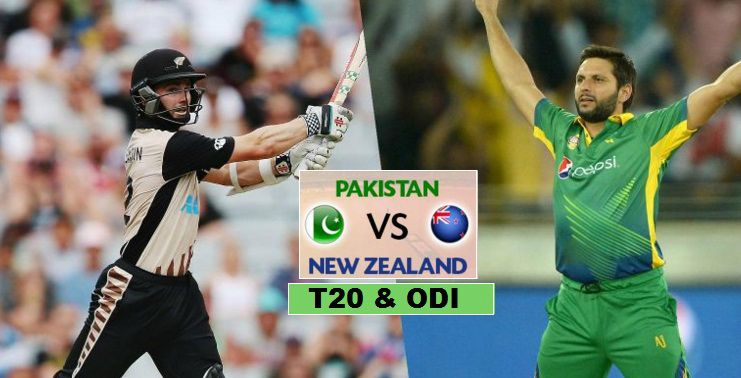 Pakistan VS New Zealand