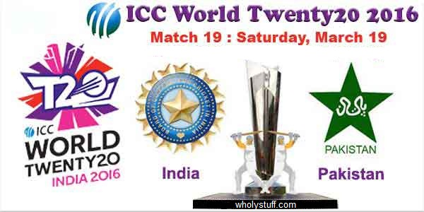 Pakistan Vs India T20 World Cup