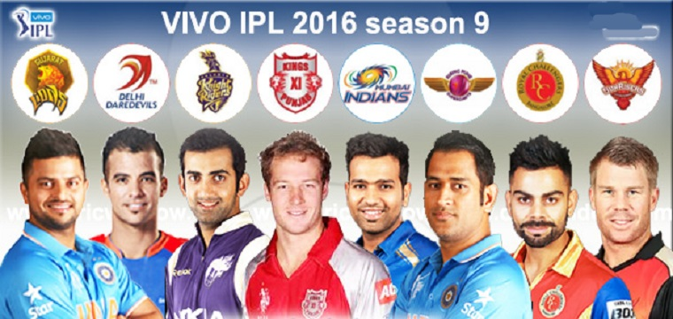 IPL 2016 Schedule Time Table