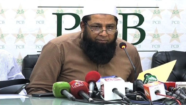 Inzamam ul Haq Press Conference to name Test Squad