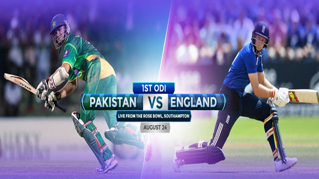 Pakistan vs England 1st ODI Match Live