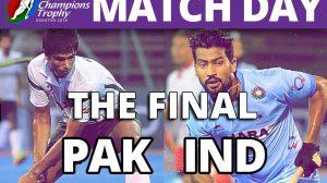 Pak vs India Asial Hockey Champions Trophy Final Match
