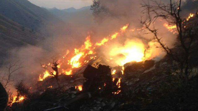 PIA flight PK661 Crashed near Havelian