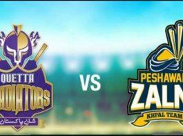 Quetta Gladiators vs Peshawar Zalmi clash in Lahore PSL Final