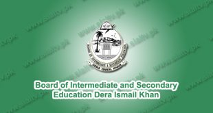BISE Dera Ismail Khan Board Results