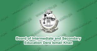 BISE Dera Ismail Khan Board Results