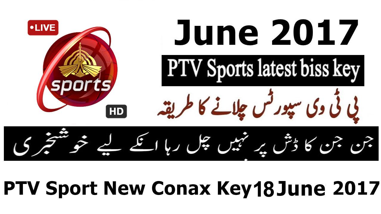 PTV Sports Latest Biss Key