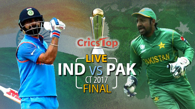 Pakistan vs India CT17 FInal Match Live Streaming