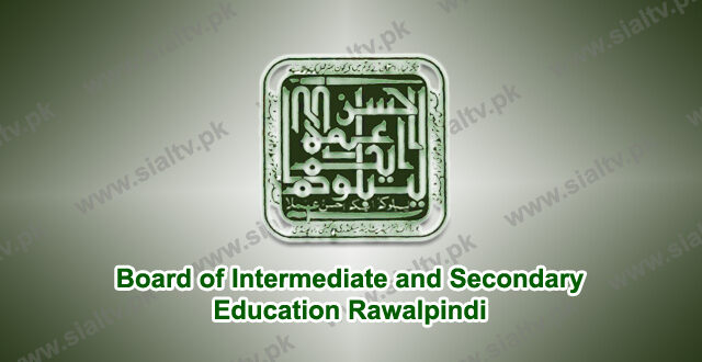 BISE Rawalpindi Board Results