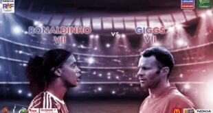 Ronaldinho And Friends Football Match Live Streaming in Karachi 8th July 2017