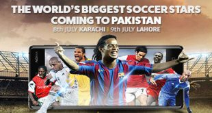 Ronaldinho and Friends are come to Pakistan