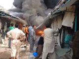 Islamabad Sasta Bazaar Caught Fire (2)
