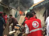 Islamabad Sasta Bazaar Caught Fire (6)