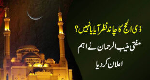 Zil-Hajj moon not sighted in Pakistan, Eid-ul-Azha on 2nd September