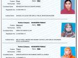BISE Gujranwala Inter Result 2017 Top Position Holders Humanities Female