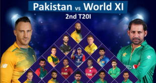 Independence Cup 2017, Pakistan vs World XI 2nd T20 Match Live Score