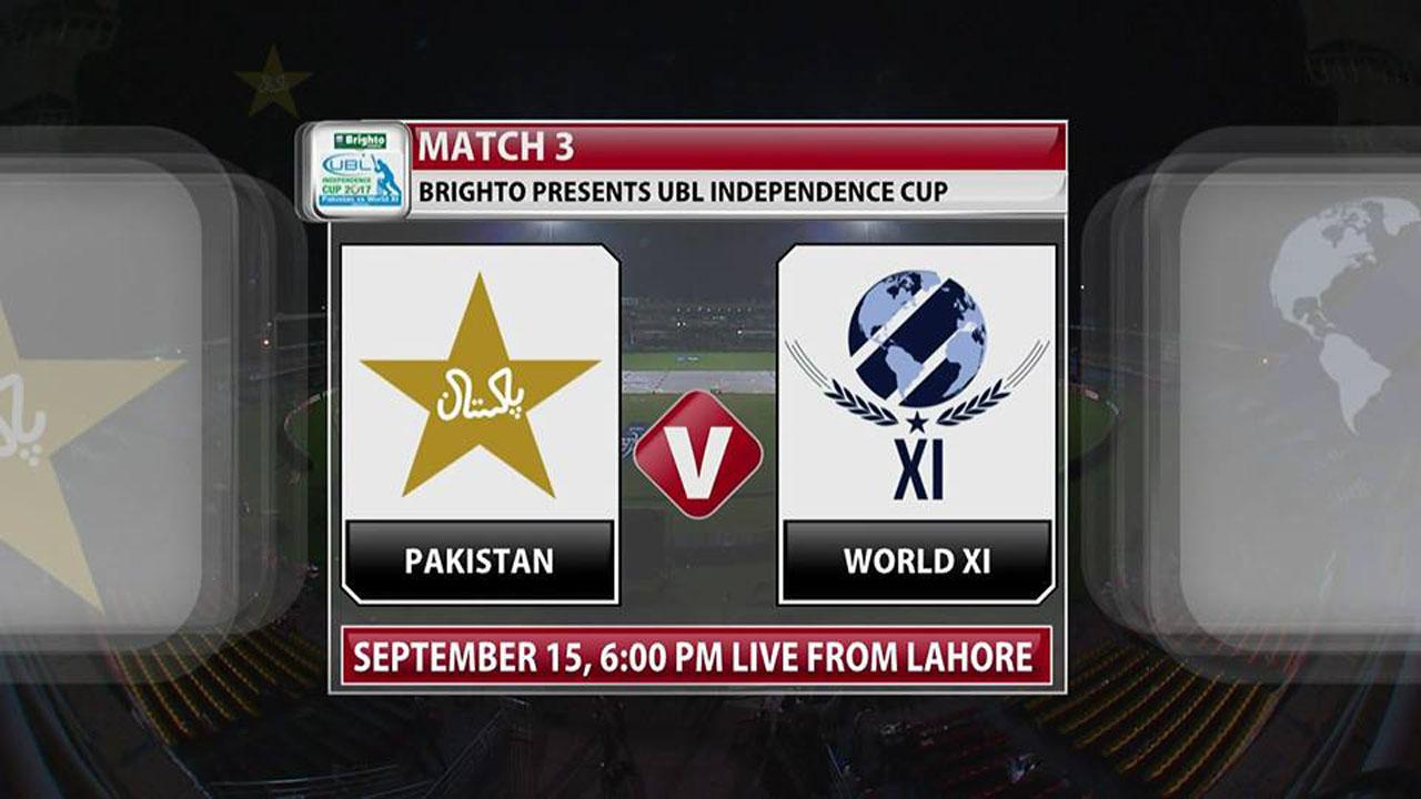 Pakistan vs World XI 3rd T20 Live Streaming