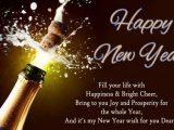 Happy New Year 2018 Drinks