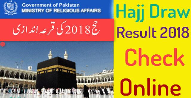 Hajj 2018 Final List Online