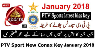 PTV Sports Latest Biss Key PAK vs INDIA
