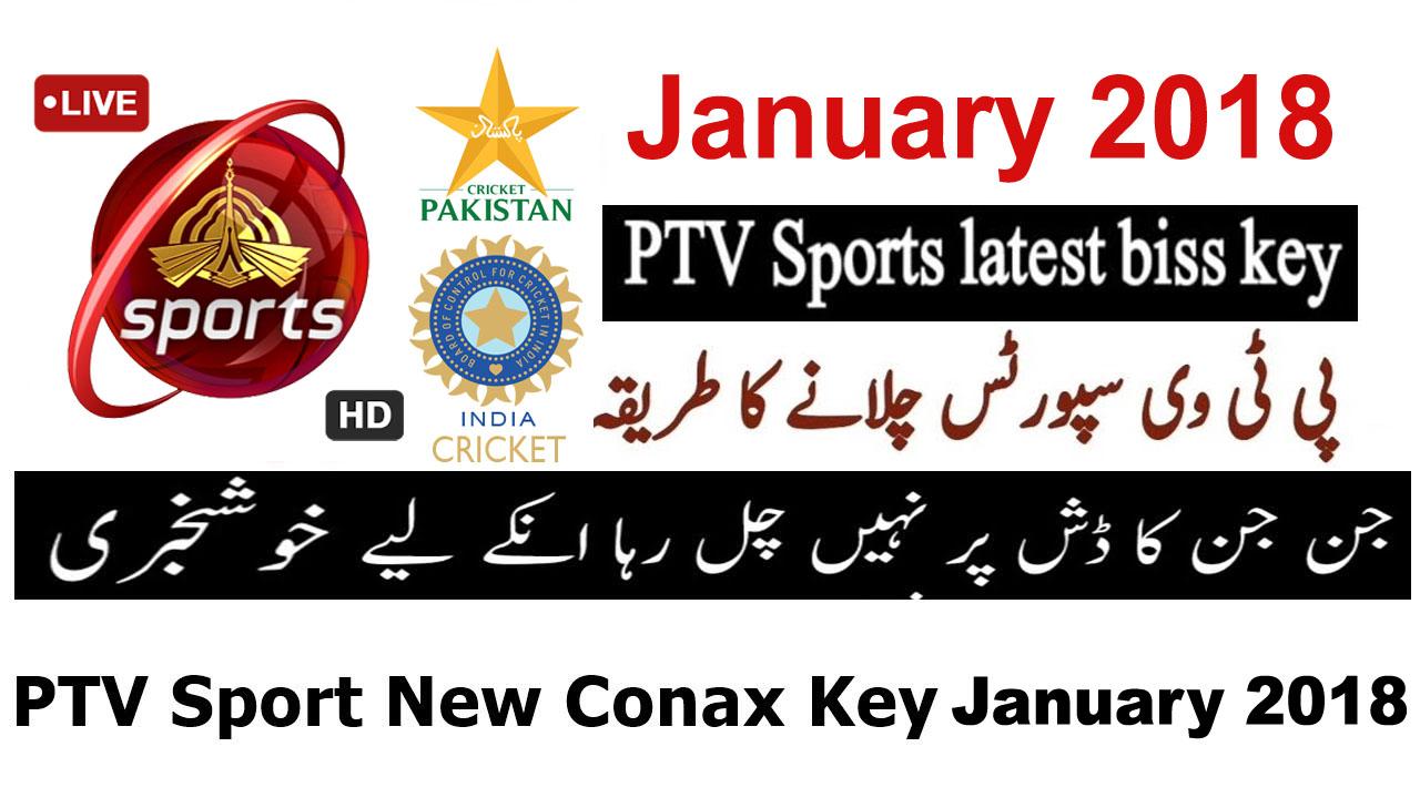 PTV Sports New Biss Key PAK vs INDIA